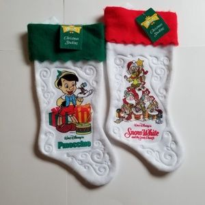 Disney | Vintage Snow White Pinocchio Stockings